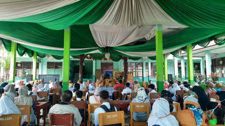 Gelar MPLS Tatap Muka, SMPN 11 Padang Patuhi Protokol...