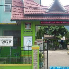 Gerbang SMP Negeri 11 Padang