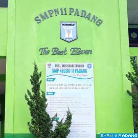 Selamat Datang di SMP Negeri 11 Padang